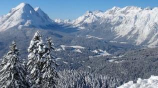 Winter in den Alpen Tirols