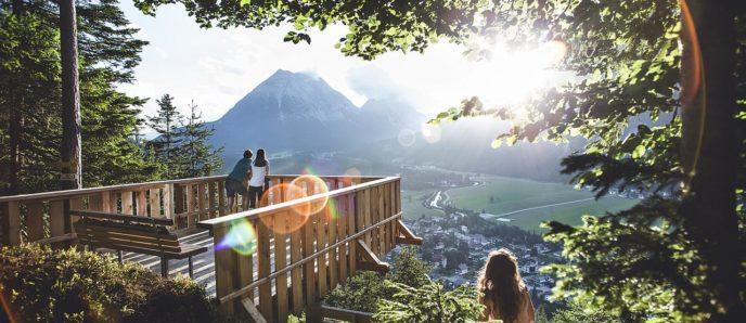 Urlaub im Sommer im Alpenpark