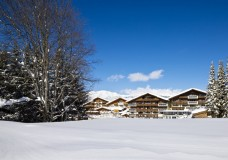 Alpenpark Seefeld im Winter - Aussenansicht