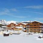 Außenansicht Winter - Alpenpark Resort