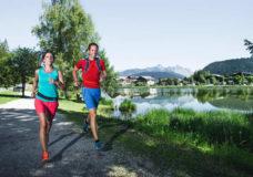 Laufen am See - Freizeitgestaltung in Seefeld