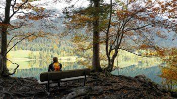 Wandern im Herbst - Alpen Tirols
