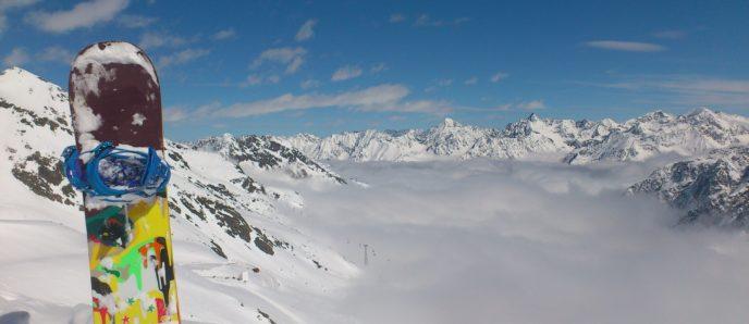 Snowboarden in Seefeld - Alpen Tirols