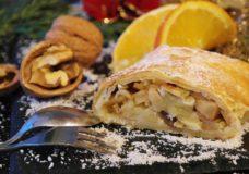 Apfelstrudel - Traditionelle Küche im Alpenpark