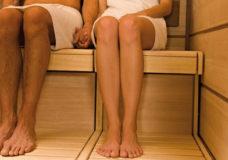 Wellness-Urlaub, Gesundes Schwitzen, Sauna